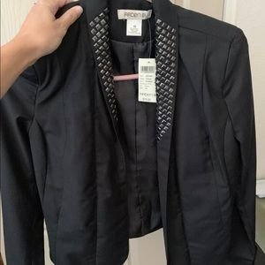 Arden B women's XS blazer with studs brand new tag